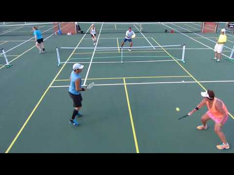 Miracle Ear Pickleball-4.5 MXD 1/8 Final Dan Geenen/Camille Hughes v Amy Yarbrough/Randall Wood