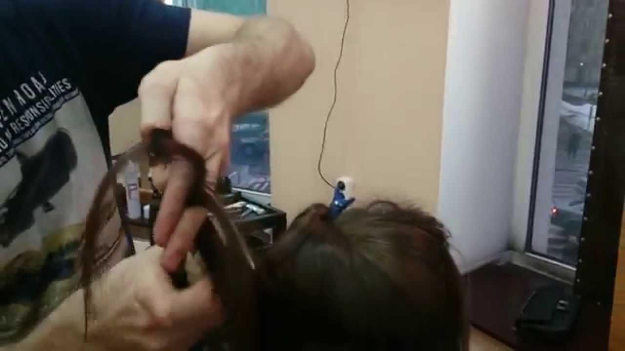 Как надевать насадку полировщик волос - YouTube