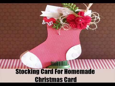 7 ideas for making elegant homemade christmas cards youtube for Elegant homemade christmas cards