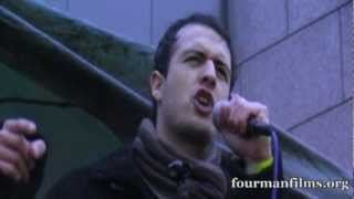 Martin Powell Poet Activist   National Demonstration End Israel