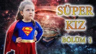 Süper güçlere sahip SÜPER KIZ' ın maceraları. - Supergirl' s adventures.