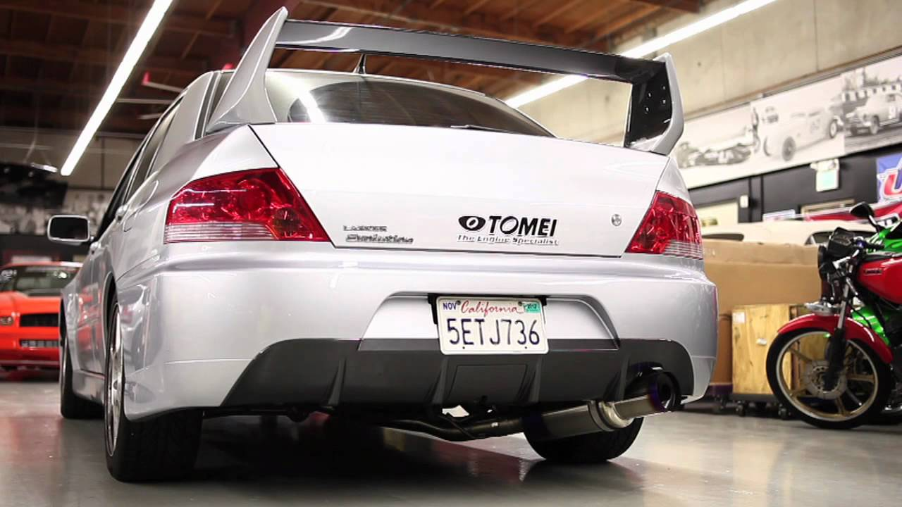 5 Inch Exhaust Pipe >> Tomei Expreme Ti Evo Exhaust Video - YouTube