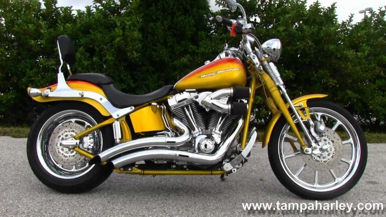 Used 2007 harley davidson cvo softail springer motorcycle for sale youtube