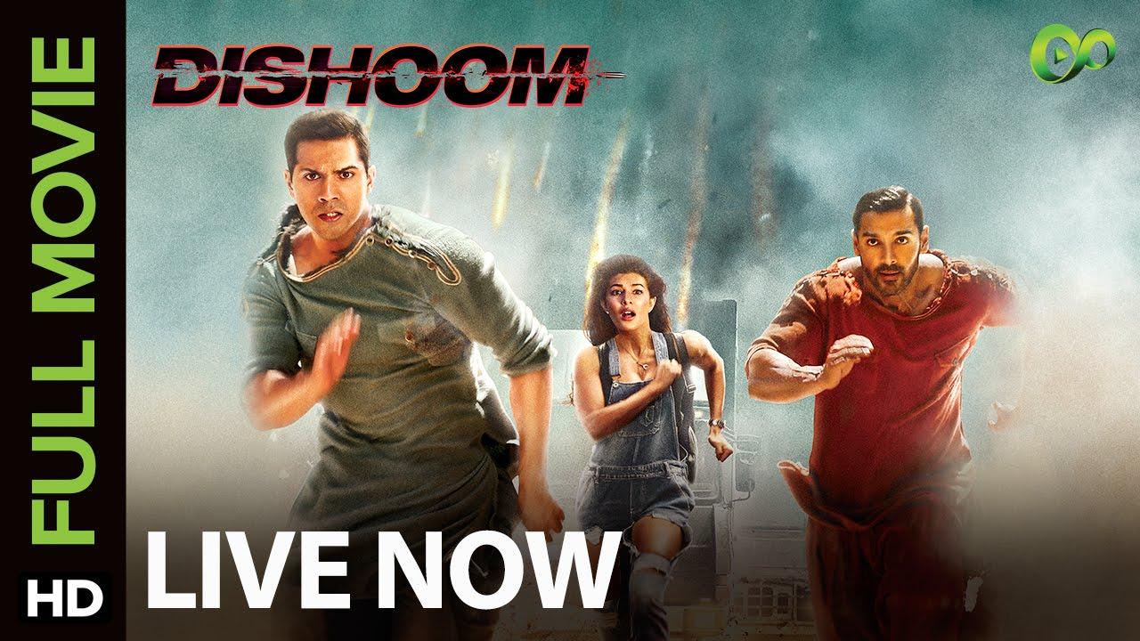 Dishoom Full Movie Live On Eros Now Varun Dhawan Jacqueline Fernandez John Abraham
