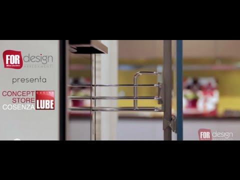 for design arredamenti lube concept store cosenza