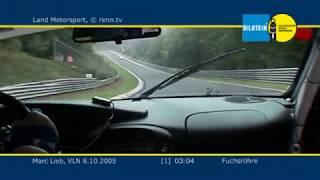 VLN 2005 - Land Motosport - Porsche 996 GT3 RSR - Marc Lieb - Onboard 1