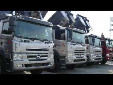 Xe Ti Hyundai Trago 25,5 Tn Ben Cng Ty T Trng Th nh