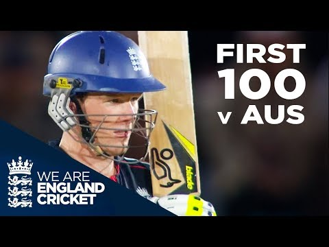 Eoin Morgan's First Hundred Against Australia - 2010 | Full Highlights