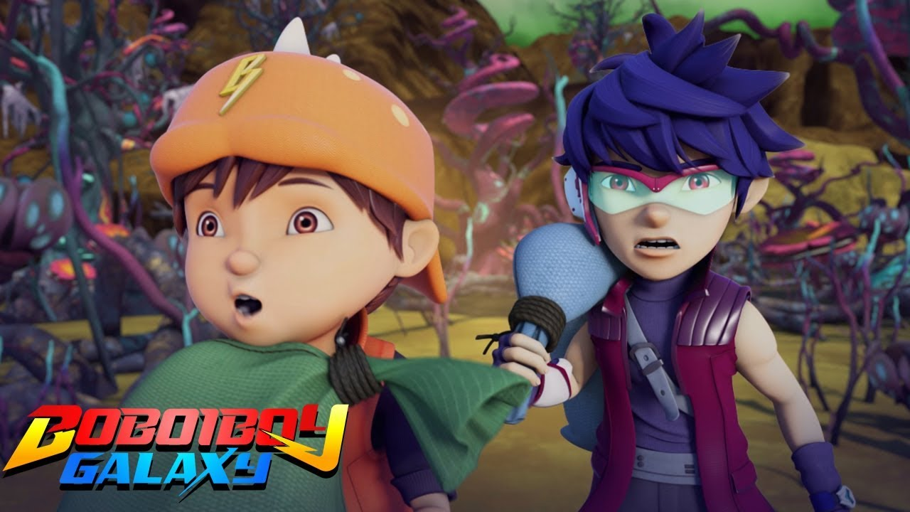 BoBoiBoy Galaxy - Laundry Delivery | Kids Cartoons | Kids Videos | Moonbug After School