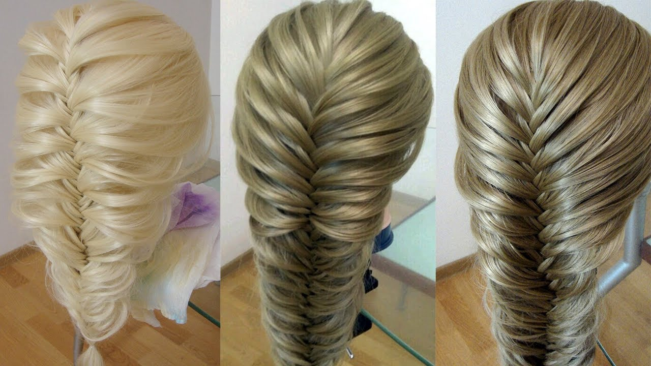 Коса рыбий хвост Воздушная коса 3 самых простых способа