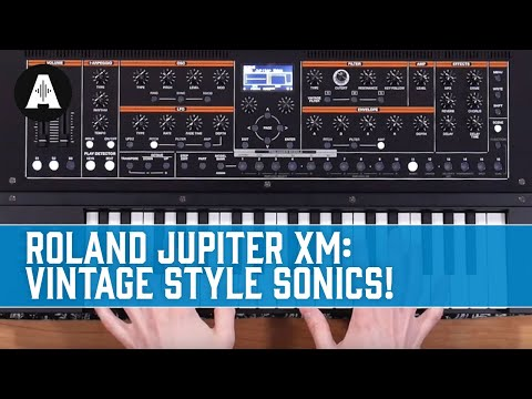 Roland Jupiter XM Synth - Andertons Music Co