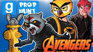 Gmod Ep. 77 PROP HUNT! - SUPER HERO MOVIE! (Garry's Mod Funny Moments)