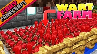 Minecraft | NETHER WART FARM | Foxy's Bedrock Survival [47]