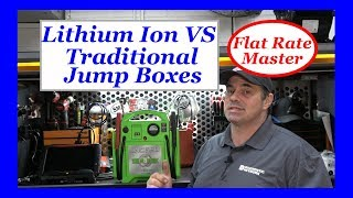 Lithium Ion VS Traditional Jump Boxes