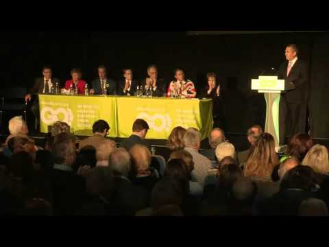 Dr. Liam Fox MP launches the Grassroots Out Campaign