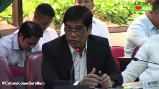 Cong CS requests support to Radyo ng Bayan Catanduanes during PCOO budget hearing