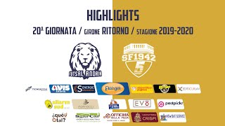 HIGHLIGHTS - Florigel Futsal Andria vs. San Ferdinando 1942
