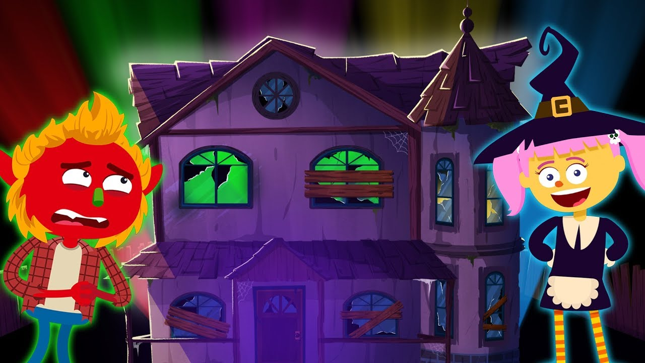 The Amazing Haunted House | Halloween Songs For Kids | Kids Songs and Nursery Rhymes by Teehee Town