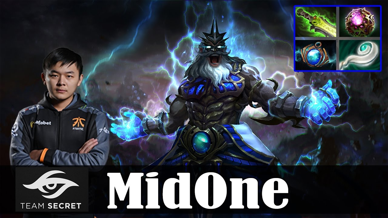 MidOne Zeus Roaming Dota 2 Pro MMR Gameplay 1 YouTube