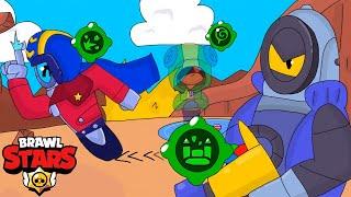SHOWDOWN OF SECOND GADGETS #4 - Brawl Stars animation