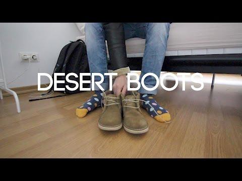 La diferencia entre chukka boots y desert boots