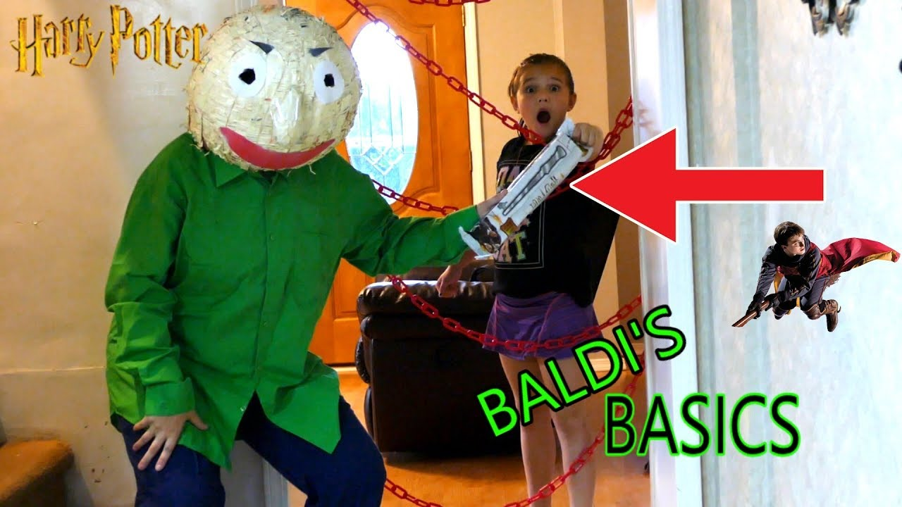 Real Life Baldi's Basics Harry Potter Mystery Wands ...