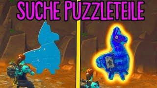 Fortnite: Suche in Kellern nach Puzzleteilen! | Woche 10 Herausforderungen