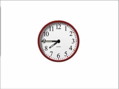 MathABC.com: Time: Analog clock reading: full hour, half an hour ...