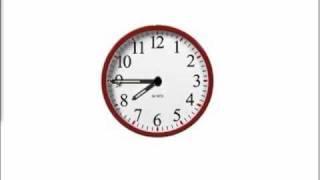 Mathabc.com: Time: Analog Clock Reading: Full Hour, Half An Hour, Quarter Of An Hour