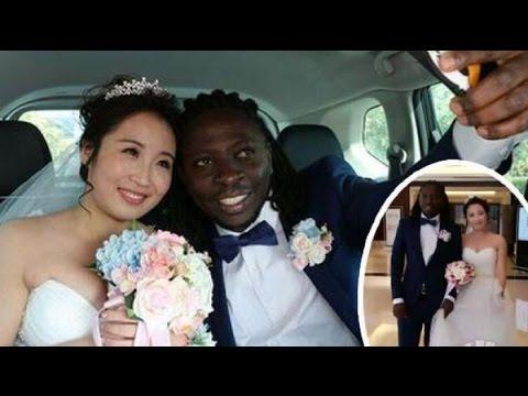 Bukti Cinta Tidak Mengenal Warna Kulit, Pria Afrika Nikahi Wanita Cantik China