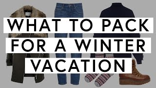 What To Pack For A Winter Vacation | The Zoe Report By Rachel Zoe