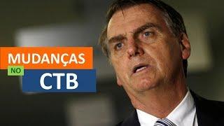 Bolsonaro anuncia mudanças no Código de Trânsito #RonaldoCardoso #LegTransito