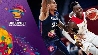 Germany v France - Highlights - Round of 16 - FIBA EuroBasket 2017