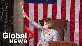 Nancy Pelosi re-elected as US …