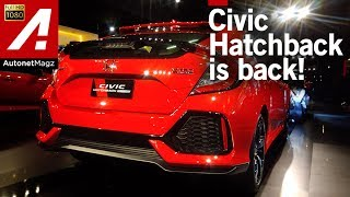 FI review Honda Civic Turbo Hatchback Indonesia 2017