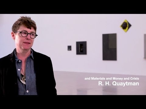 and Materials and Money and Crisis - Quaytman