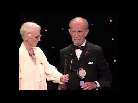 Jessica Tandy and Hume Cronyn  Special Tony Award for Lifetime Achievement in the Theatre 1994