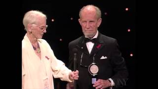 Jessica Tandy and Hume Cronyn - Special Tony Award for Lifetime Achievement in the Theatre (1994)