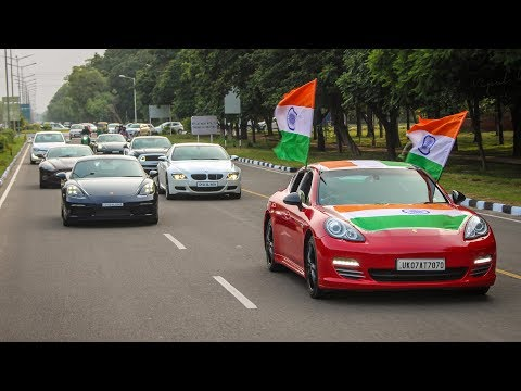 Independence day supercars drive | Chandigarh