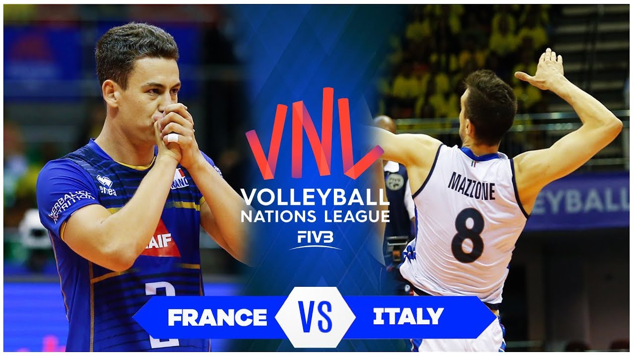 France vs Italy | Match Highlights | Men's VNL 2019 (HD)
