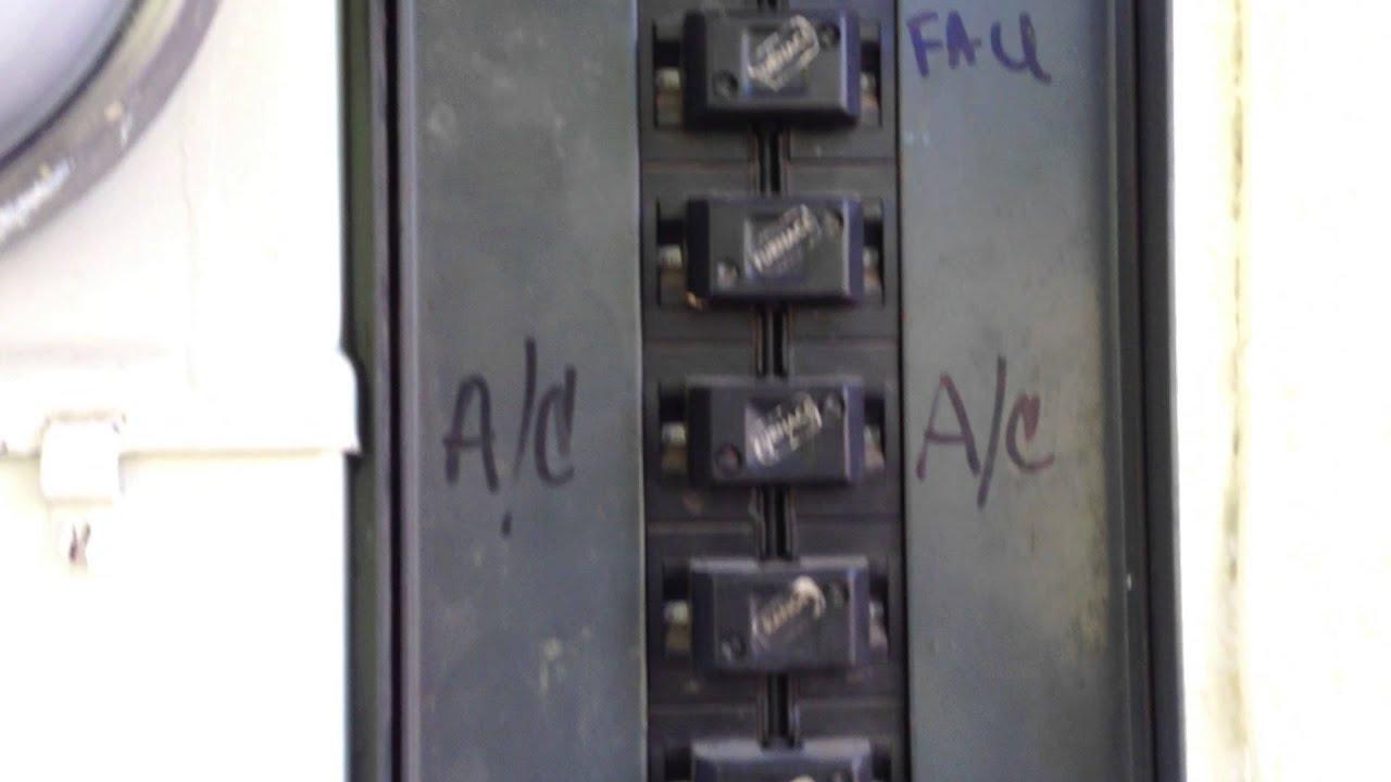 100 Old Fuse Box Push Matic Bulldog Electrical Panel Youtube