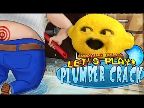 Grandpa Lemon Plays - PLUMBER CRACK!