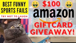 Best Funny Sports Fails Vines Compilation 2020 | Free Amazon Gift Card Giveaway 2020