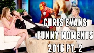 Chris Evans Funny Moments 2016 Part 2
