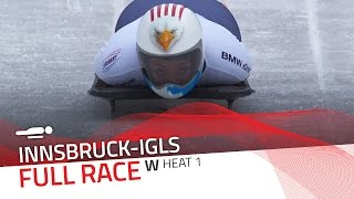 Innsbruck-Igls | BMW IBSF World Championships 2016 - Women's Skeleton Heat 1 | IBSF Official