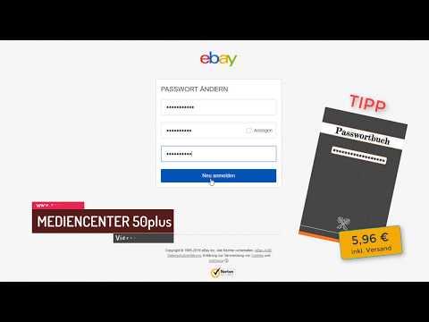 So ändern Sie Ihr eBay Passwort