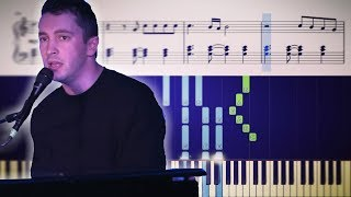 Leave The City and Truce blending into one another on piano (Sheet Music)
