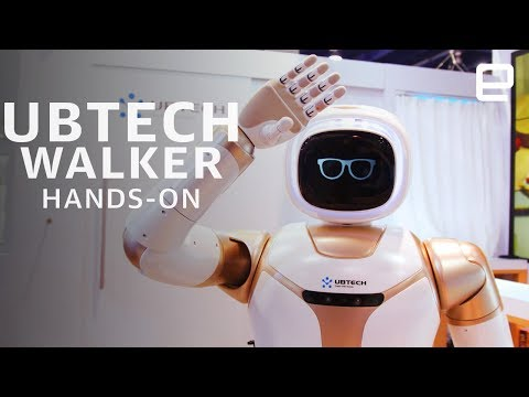 Ubtech Walker Hands-On: The robotic butler we all need at CES 2019