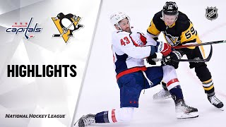NHL Highlights | Capitals @ Penguins 1/19/21
