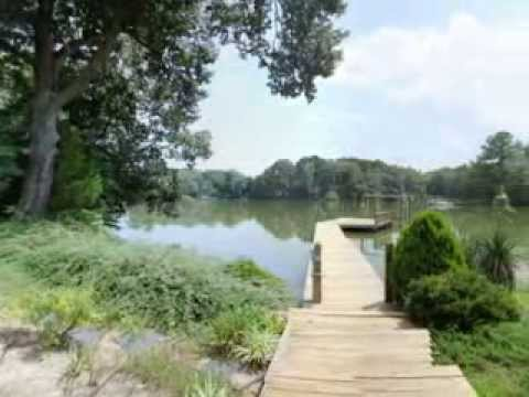 Picturesque Waterfront & Horse Property With Stables, Pier And MORE
